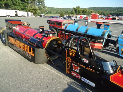 The K.C. Jones jet dragster show was a blast and the fans loved it.