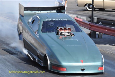 A pure Pontiac powered fuel funny car!