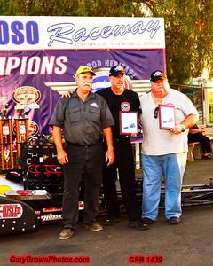 Tony Bartone  #457  Top Fuel    Points Champion & 2014 CHRR  Event Winner