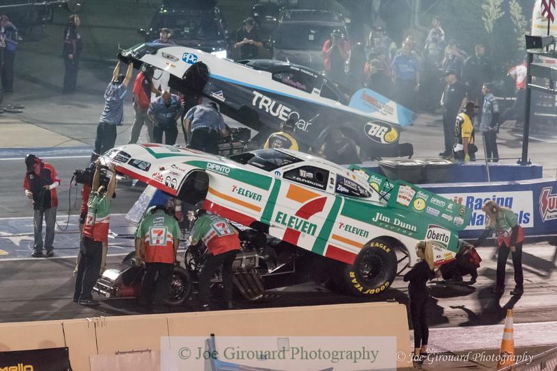 2017 NHRA Summit Nationals Nitro Funny Car
