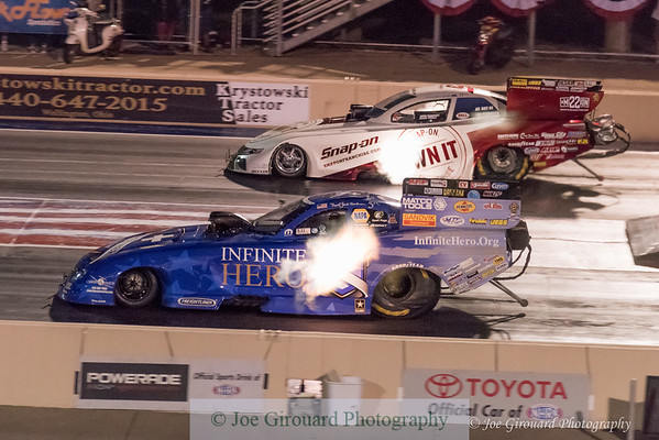 2017 NHRA Summit Nationals Nitro Funny Car