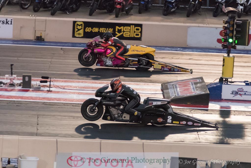 2017 NHRA Summit Nationals Pro Stock Motorcycle