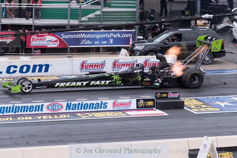 2017 NHRA Summit Nationals Top Fuel Dragster