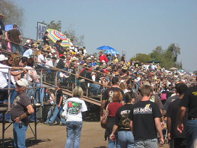 Great crowd for Sunday action at Bakersfield 50. It was a fantastic event all the way around.
