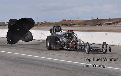 Top Fuel winner Jim Young