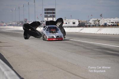 Funny Car winner Tim Boychuk