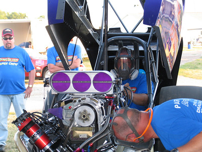 Nitro Madness warms up under watchful eyes...