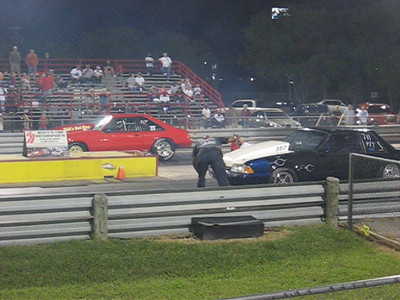 Video: Mustang vs. Mustang to complete the Back Half Outlaw round.