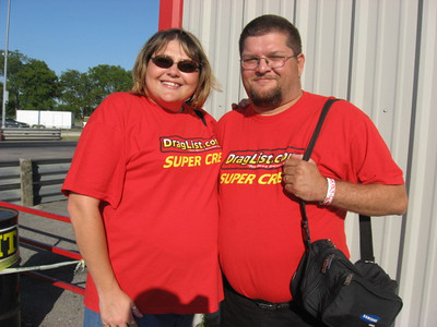 Gena and Danny White are well known at Redline and all all Dallas area tracks. They keep the photos and info coming!