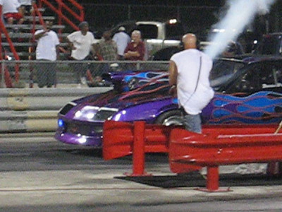 Video: Outlaw Top Sportsman car sets the Redline Raceway track record at 4.498 seconds.