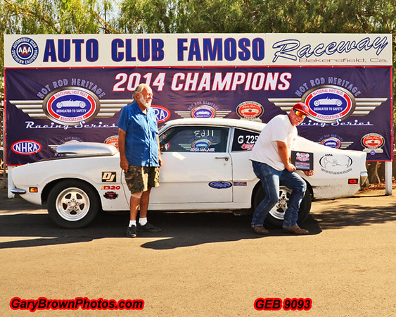 Josh Wagner  G 725 Fast Ford SP Event Champion 2014 Fall Championship