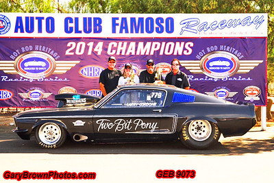 Larry Cordone  779 Hot Rod Heritage Points Champion 2014 & Event Champion Fall Championship