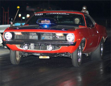 Todd on one of his Texas runs at Denton Dragway