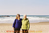 Me and Mom at the beach