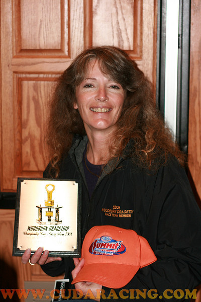 2008 Woodburn Dragstrip plaque and that very orange Summit NHRA Qualifiers hat, could they have made that one a little manlier? As if I am going to wear a bright orange man size hat....