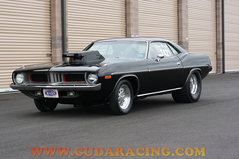 Another shot of Black Max our 1973 Plymouth Cuda.