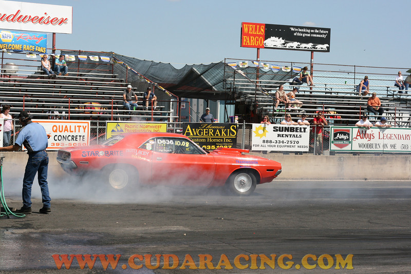 Woodburn Drags VP Fuels Championship Drag Race July 6 2008