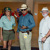 Jurassic Park Technician, Alan Grant, and John Hammond