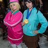 Taffyta Muttonfudge and Vanellope von Schweetz