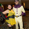 Silk Spectre and Comedian
