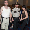Merle Dixon, Rick Grimes, and Maggie Greene