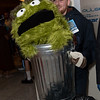Garbage Man and Oscar the Grouch