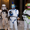Sandtrooper, Gonzo, and Kermit the Frog