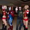 Ironettes, Iron Patriot, and Tony Stark