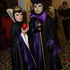 Queen Grimhilde and Maleficent