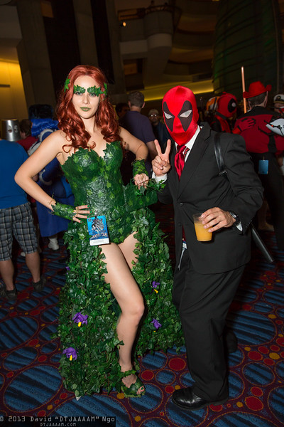 Poison Ivy and Deadpool