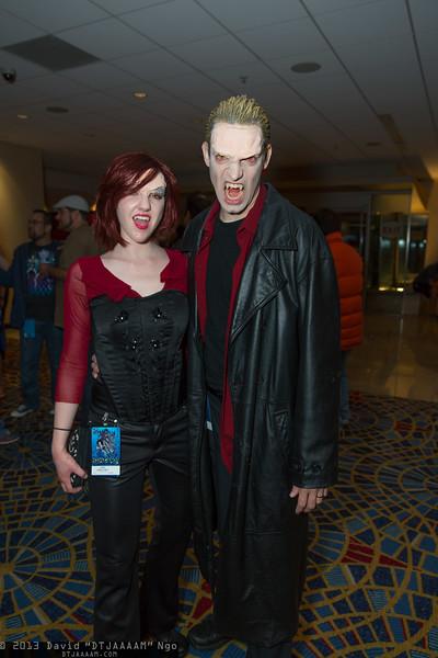 Drusilla and Spike