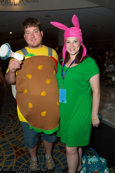 Gene Belcher and Louise Belcher