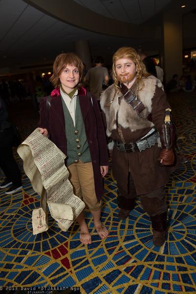 Bilbo Baggins and Fili