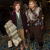 Bilbo Baggins and Fili