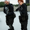 Punisher and Rachel Cole-Alves