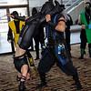 Sonya Blade and Sub-Zero