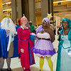 Ice King, Princess Bubblegum, Lumpy Space Princess, and BMO