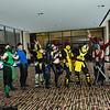 Noob Saibot, Reptile, Kurtis Stryker, Cyraxes, Sub-Zero, Sonya Blade, Scorpion, Kabal, Freddy Krueger, Kung Lao, and Smoke