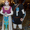 Princess Zelda and Dark Link