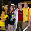 Pikachu, Ash Ketchum, Professor Oak, and Misty