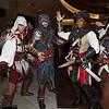 Ezio Auditore da Firenzes, Aveline de Grandpre, and Edward Kenway