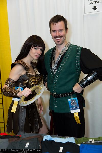 Xena and Autolycus