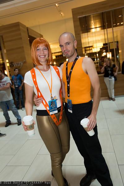 Leeloo and Korben Dallas