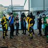 Kabal, Cyraxes, Kurtis Stryker, Sonya Blade, Sub-Zero, Scorpion, Noob Saibot, Smoke, and Reptile