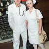 Doctor Bernardi and Nurse