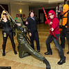 Black Canary, Green Arrow, Moira Queen, Arsenal, and Deathstroke the Terminator