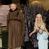 Hodor, Daenerys Targaryen, and Bran Stark