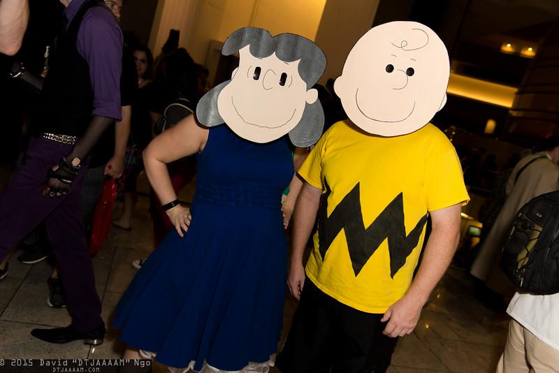Lucy van Pelt and Charlie Brown