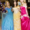 Cinderella, Belle, and Princess Aurora