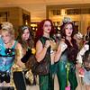 Cinderella, Belle, Merida, Ariel, and Pocahontas